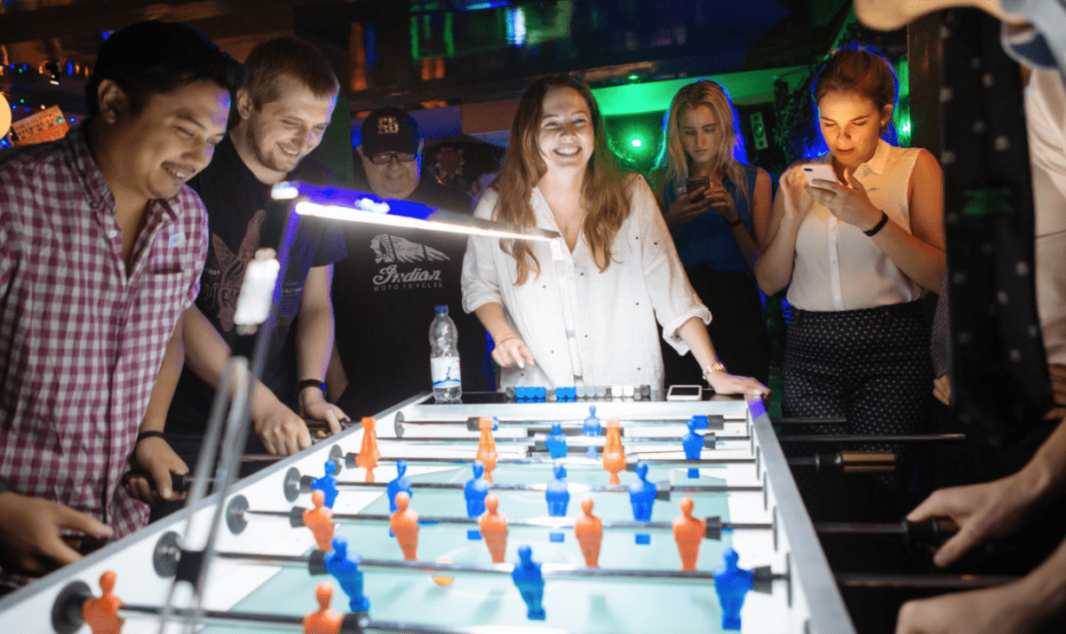 LONDON'S FIRST DEDICATED FOOSBALL BAR LAUNCHES