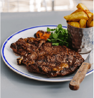 GET 50% OFF STEAK AND 2 FOR 1 PIZZAS AT THE FARMHOUSE AT MACKWORTH