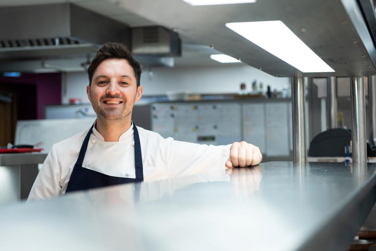 High-Five to Robert Potter as the Manor House's Bybrook restaurant  retains its Michelin star