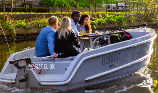 GoBoat London - Open from Monday 29th for groups of six