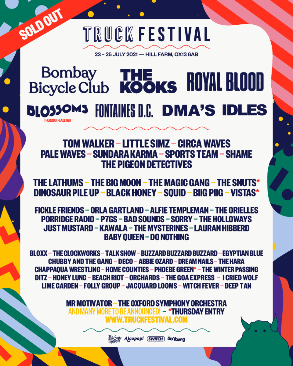 Truck Festival announces 2021 line-up