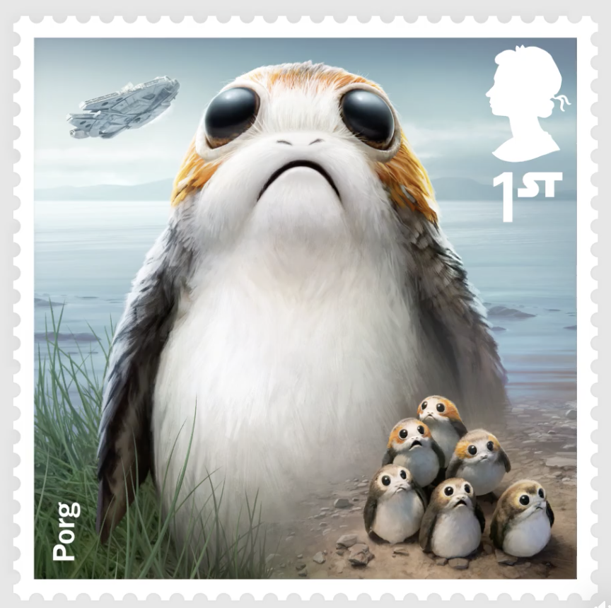 Mail the Force be with you! - these are the stamps you are looking for...