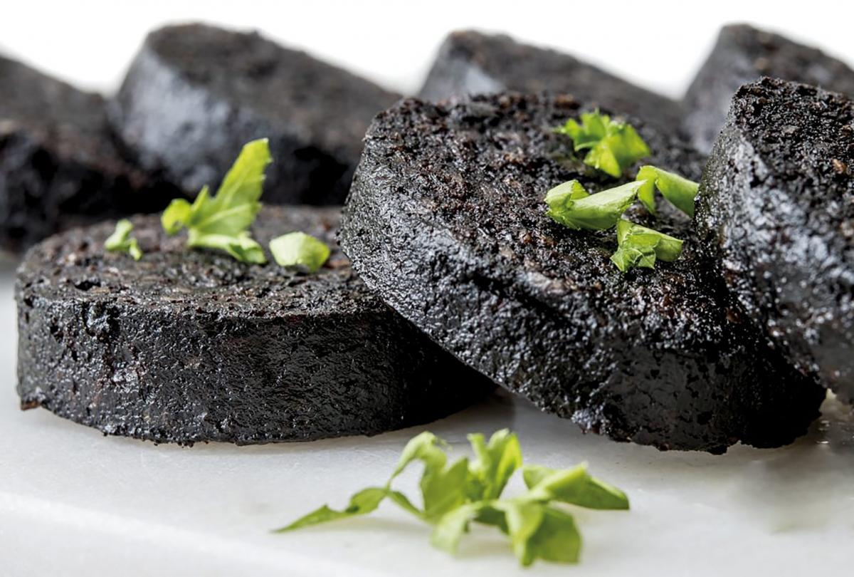 A dark history of black pudding